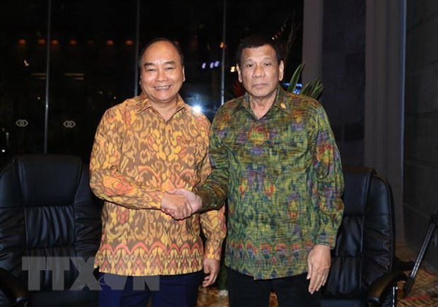 Tong thong Duterte: Philippines luon coi Viet Nam la ban be than thiet hinh anh 1