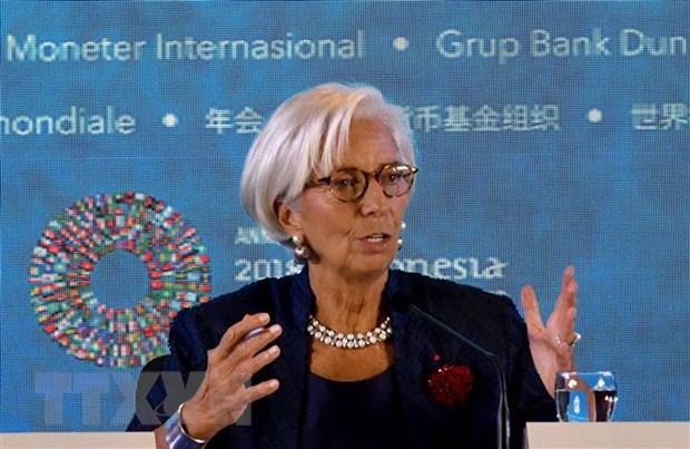 IMF canh bao cang thang My-Trung lam giam tang truong kinh te chau A hinh anh 1