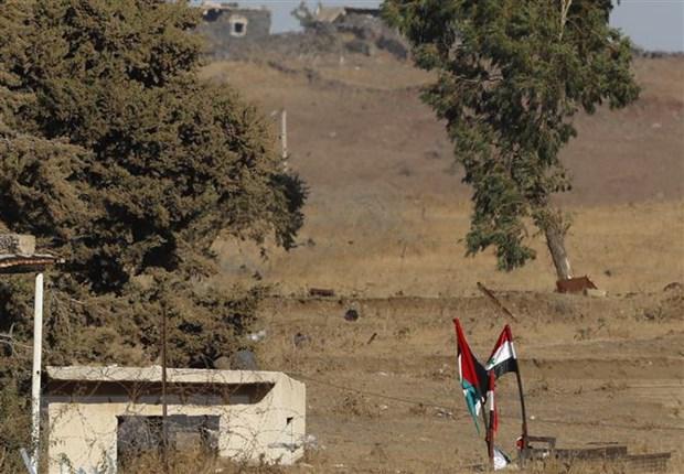 Israel va Syria mo lai cua khau duy nhat o Cao nguyen Golan hinh anh 1