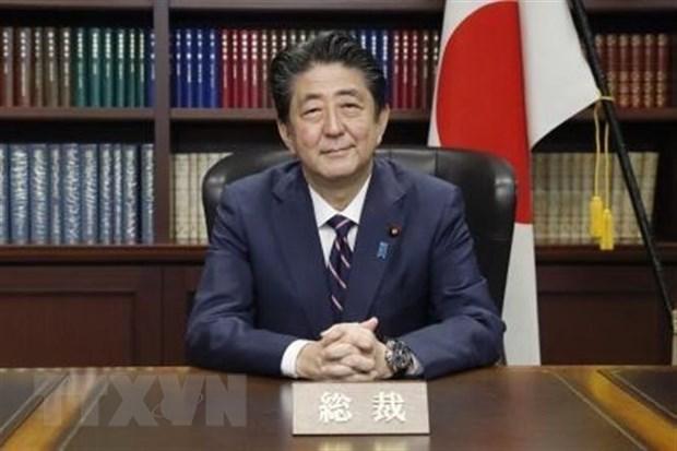 Thu tuong Nhat Ban Shinzo Abe bat dau chuyen cong du chau Au hinh anh 1