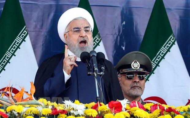 Iran chi trich nuoc ngoai can thiep vao van de noi bo cua Qatar hinh anh 1