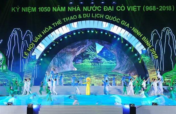 Le hoi van hoa, the thao va du lich quoc gia Ninh Binh 2018 hinh anh 2