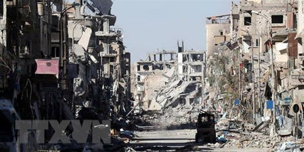 Syria: IS thua nhan cho phat no mot chiec xe chua bom o Raqqa hinh anh 1