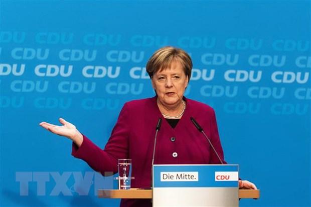 Thu tuong Duc canh bao nguy co mat on dinh cua khu vuc Eurozone hinh anh 1