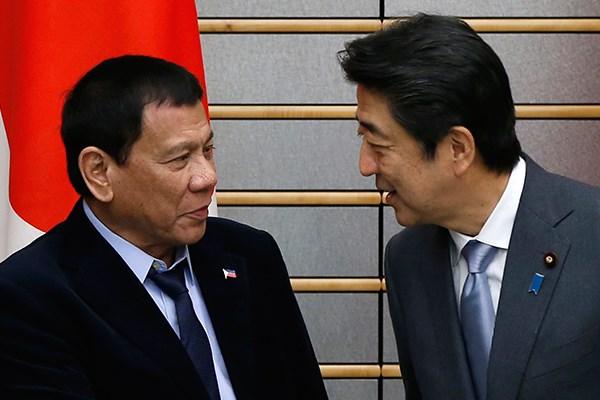 Philippines, Nhat Ban cam ket duy tri tu do hang hai o Bien Dong hinh anh 1