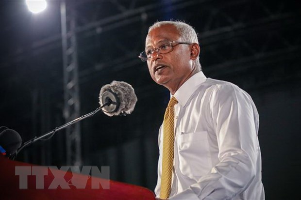 Ong Ibrahim Solih tuyen the nham chuc Tong thong Maldives hinh anh 1