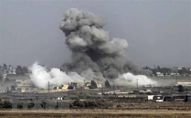 Syria: Lien quan do My dung dau khong kich, nhieu tre em thiet mang hinh anh 1
