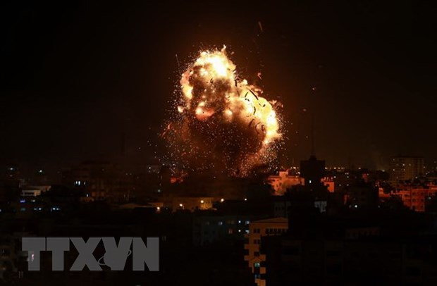 LHQ keu goi noi lai dam phan giai quyet cuoc xung dot Israel-Palestine hinh anh 1
