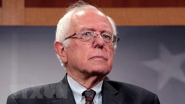 Thuong nghi sy Dan chu Sanders danh tin hieu ra tranh cu tong thong hinh anh 1