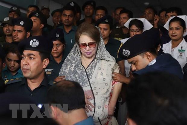 Bangladesh cam cuu Thu tuong Khaleda Zia tham gia tranh cu hinh anh 1