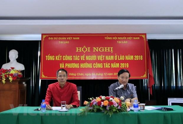 Cong dong nguoi Viet Nam tai Lao doan ket cung phat trien hinh anh 1
