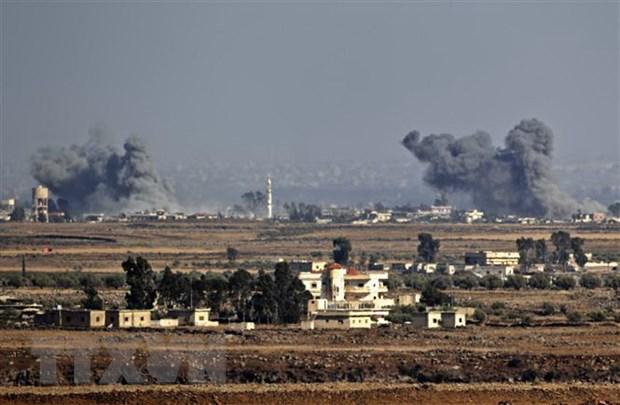 Syria rut lai thong tin tan cong cac muc tieu gan san bay Damascus hinh anh 1