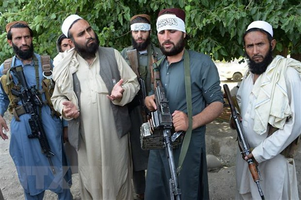 Iran thong bao da tien hanh dam phan voi nhom phien quan Taliban hinh anh 1