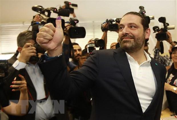 Thu tuong Liban Saad Hariri canh bao can som thanh lap chinh phu hinh anh 1