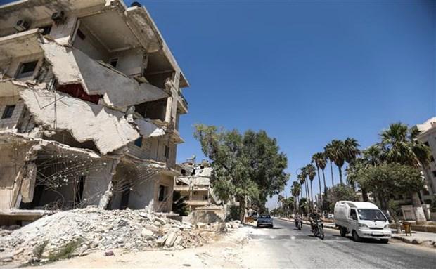 Gan 50 nguoi thiet mang trong cac vu xung dot o Syria trong 2 ngay hinh anh 1