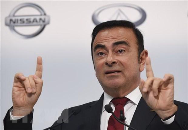 Cuu Chu tich Nissan Carlos Ghosn yeu cau lam ro ly do ong bi bat giu hinh anh 1