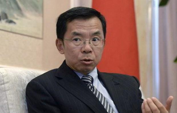 Dai su Trung Quoc chi trich Canada lien quan vu bat giu CFO Huawei hinh anh 1