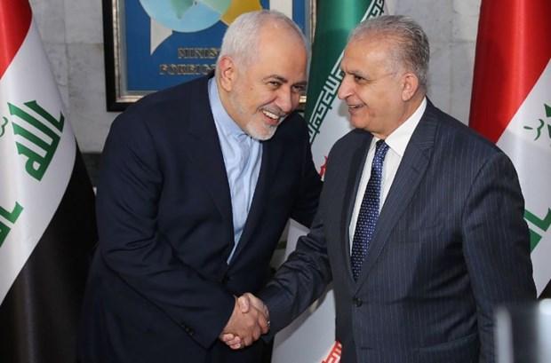 Ngoai truong Iran toi Iraq thao luan ve bien phap trung phat cua My hinh anh 1