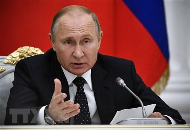 Tong thong Nga Vladimir Putin co ke hoach tham Nhat Ban vao thang Sau hinh anh 1