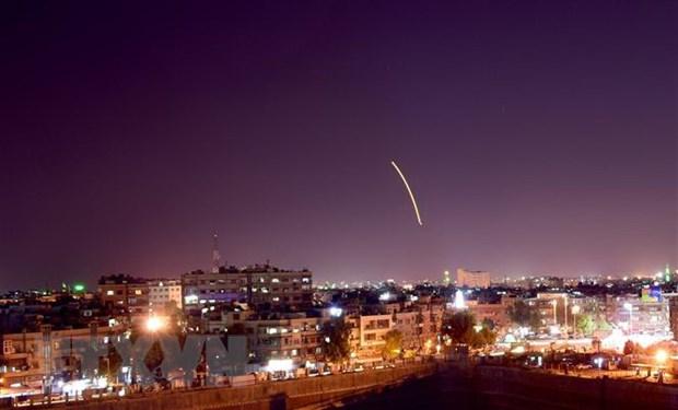 'Israel khong kich nham chong lai su hien dien cua Iran tai Syria' hinh anh 1