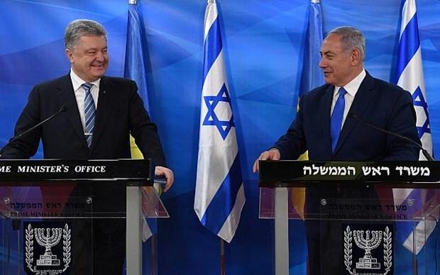 Ukraine va Israel ky thoa thuan thuong mai tu do sau 5 nam dam phan hinh anh 1