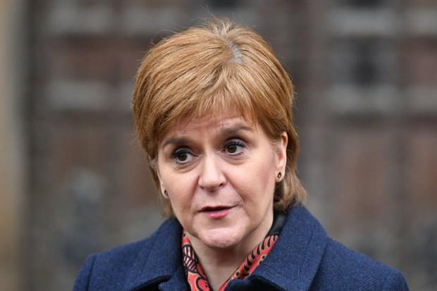Brexit: Thu hien Scotland Nicola Sturgeon keu goi trung cau y dan lai hinh anh 1