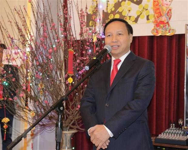 Cong dong nguoi Viet tai Lien bang Nga don Tet co truyen dan toc hinh anh 1