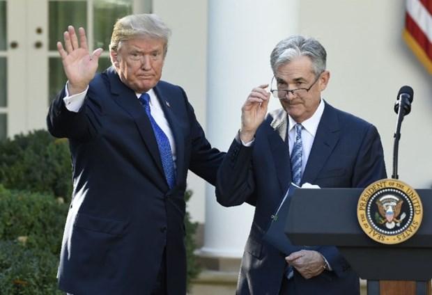 Sau nhung chi trich, Tong thong Donald Trump gap Chu tich Fed hinh anh 1