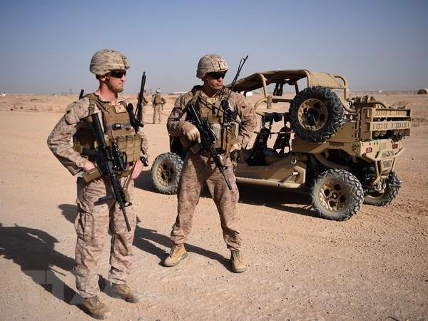 Taliban: My cam ket rut mot nua binh sy tai Afghanistan truoc thang 4 hinh anh 1