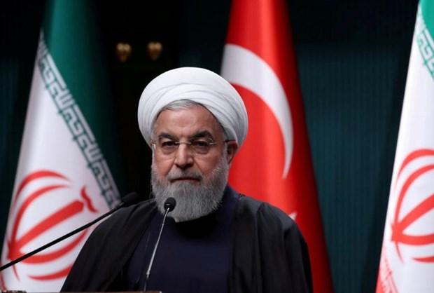 Tong thong Iran cao buoc My tiep tuc ho tro khung bo o Syria hinh anh 1