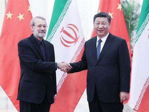 Trung Quoc khang dinh mong muon tang cuong quan he voi Iran hinh anh 1
