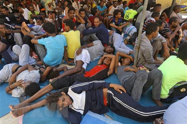 Tren 100 nguoi di cu trai phep duoc giai cuu ngoai khoi Libya hinh anh 1