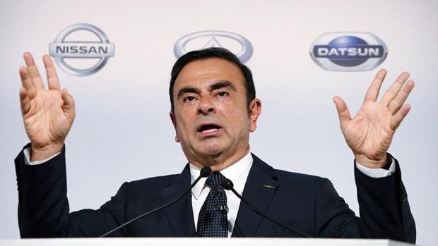 Cuu Chu tich Nissan Carlos Ghosn tiep tuc nop don xin tai ngoai hinh anh 1