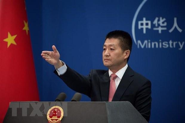 Trung Quoc cho thong tin chinh thuc tu My va Trieu Tien hinh anh 1