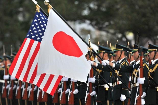 Kyodo: Nga xem lien minh My-Nhat can tro dam phan hiep uoc hoa binh hinh anh 1