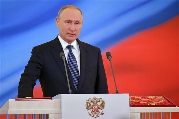 Tong thong Nga Vladimir Putin ky ban hanh sac lenh dinh chi INF hinh anh 1