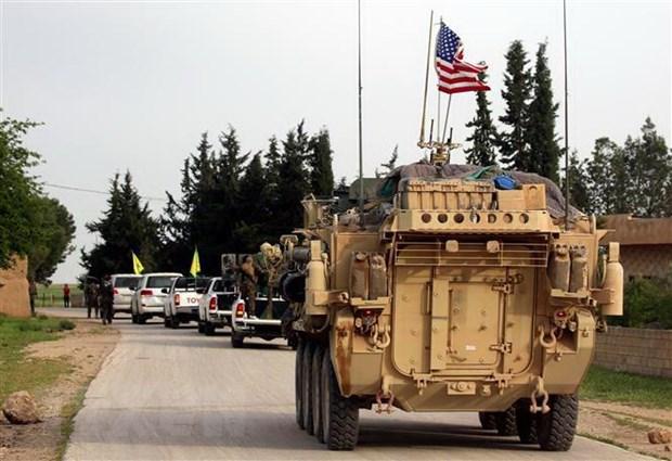 Syria: Danh bom lieu chet nham vao doan xe quan su cua My hinh anh 1