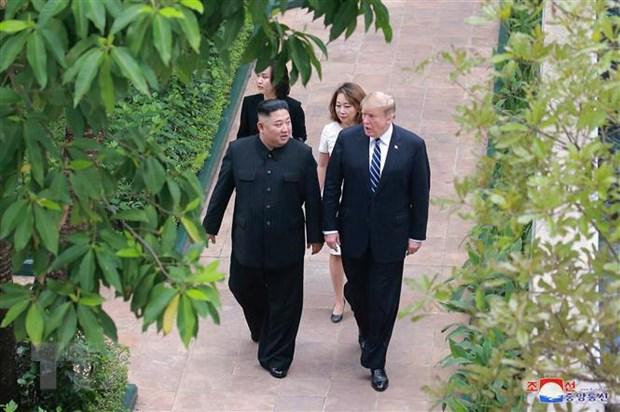 Tong thong Trump de ngo kha nang to chuc thuong dinh My-Trieu lan 3 hinh anh 1