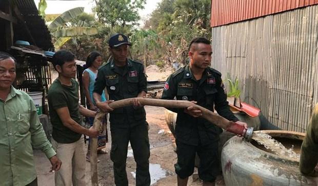 Campuchia keu goi Thai Lan ho tro nuoc sach cuu han cho tinh Koh Kong hinh anh 1