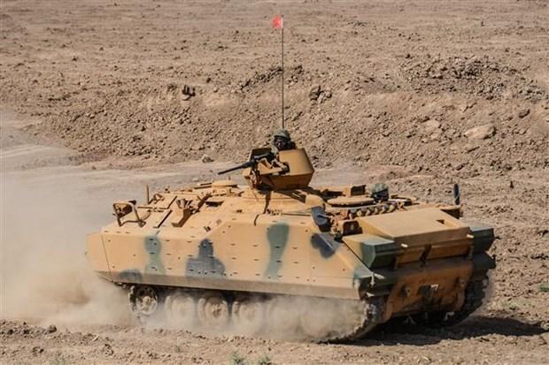 Tho Nhi Ky, Iran bat dau chien dich chung chong phien quan nguoi Kurd hinh anh 1