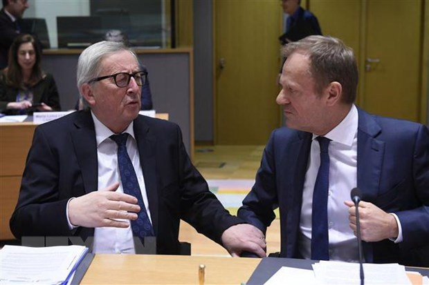EU tuyen bo co the tri hoan Brexit trong khoang thoi gian ngan hinh anh 1