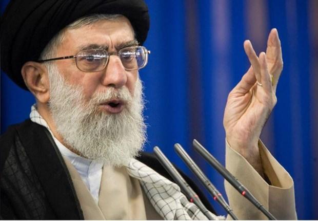 Lanh dao toi cao Iran Ali Khamenei chi trich Lien minh chau Au hinh anh 1