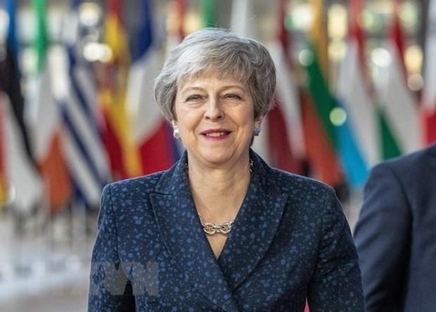Thu tuong Anh Theresa May hoan nghenh quyet dinh hoan Brexit hinh anh 1