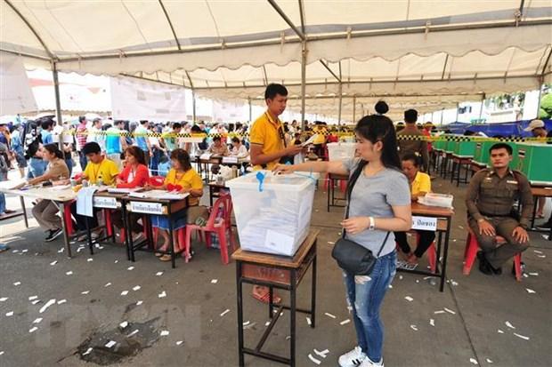 Thai Lan: Cac chinh dang no luc van dong cu tri vao phut chot hinh anh 1