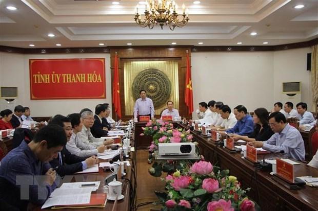 Ong Pham Minh Chinh luu y Thanh Hoa cai thien cac chi so canh tranh hinh anh 1