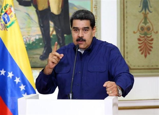 Venezuela cao buoc My dung sau am muu am sat tong thong Maduro hinh anh 1