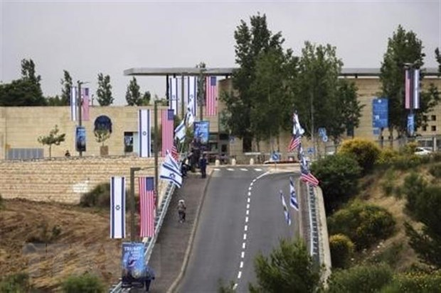 Lien doan Arab canh bao cac nuoc chuyen dai su quan toi Jerusalem hinh anh 1