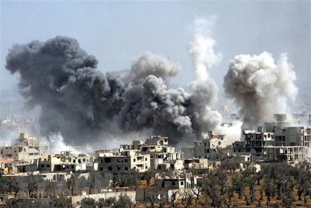 Nga canh bao ve mot am muu tan cong hoa hoc moi tai Syria hinh anh 1
