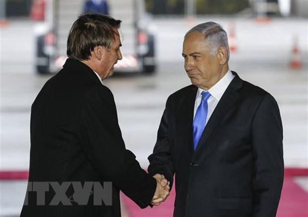 Brazil chinh thuc mo van phong thuong mai tai Jerusalem hinh anh 1