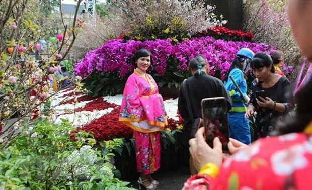Le hoi hoa anh dao Ha Noi - Bua tiec van hoa dac sac hinh anh 1